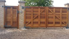 Mitech Contemporary and straight top Driveway Gates Drive Gates, Timber Gates, Ral Colours, Driveway Gate, Entry Gates, Fence Design, Back Doors, Contemporary, Modern