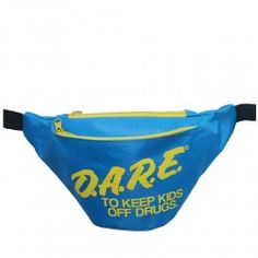 DARE (Blue) Fanny Pack by FannyPackAttack.com