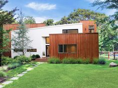 Modern Beach Home with Cedar Exterior | Eisner Design | HGTV