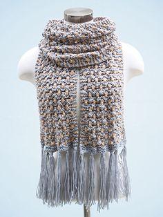 Dandelion Scarf Knit Pattern