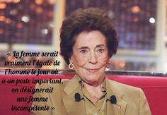 l'inénarrable Françoise Giroud... En vérité Jacqueline de Romilly s'était opposée à instituer la parité à l'Académie et respectait la compétence.
