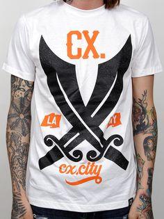 CX.CITY — LA x NY (White)