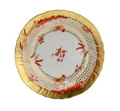 Richard Ginori L' oro di Ginori Salad/Dessert Plate    #TuscanyAgriturismoGiratola