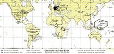 People of German ancestry in 1930 #map #germany #germans