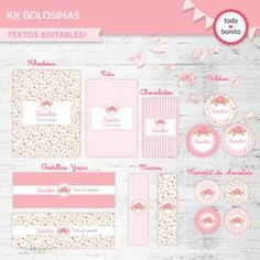Pin etiquetas para bautizo imprimir gratis hawaii dermatology on kit imprimible candy bar Candy Bar Bautizo, Foto Baby, Ideas Para Fiestas, Candy Table, Party In A Box, Fiesta Party, Party Printables, Holidays And Events, Girl Birthday