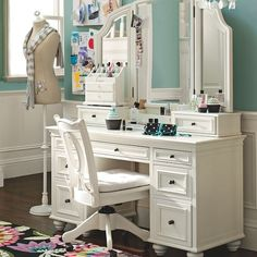 Chelsea Vanity  $299.00 – $1,395.00    Also at Pottery barn -pbteen.com