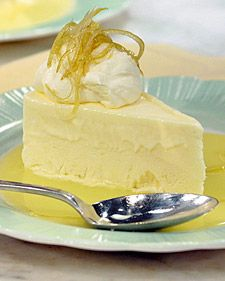 Frozen Lemon Mousse - Martha Stewart Recipes
