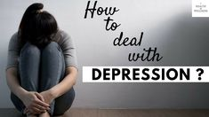 When you're depressed, it often feels like nothing in the world can make you feel better. For anyone experiencing depression, it's important to remember that. Dealing With Depression, Simple Life Hacks, Make You Feel, Feel Better, Anxiety, Wellness, Feelings, Depressed, Health