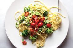 Spaghetti Alla Primavera Recipe - Saveur.com