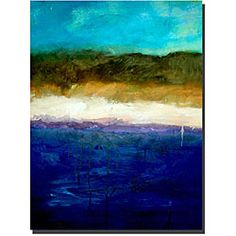 @Overstock - Add contemporary gallery-wrapped canvas art to your home to give it more personality. This ready-to-hang piece, titled Abstract Dunes, by Michelle Calkins features an abstract beach scene. The dimensions are 18 x 24. The art is ready to hang.http://www.overstock.com/Home-Garden/Michelle-Calkins-Abstract-Dunes-Gallery-wrapped-Canvas-Art/4760702/product.html?CID=214117 $49.99