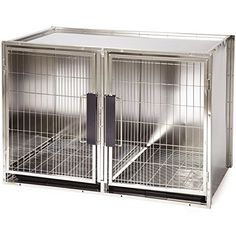 ProSelect Stainless Steel Modular Kennel, Large -- You can get more details at