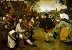"""""""Peasant Dance"""" by Pieter Breughel"""