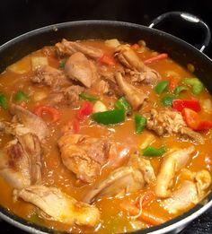Chicken Apritada