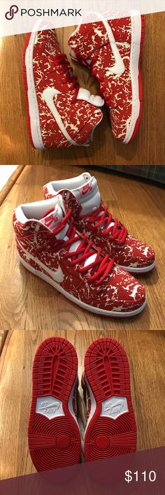 "Men's Nike SB ""Raw Meat"" Brand new, never worn Men's Nike SB ""Raw Meat"". Nike Shoes Sneakers"
