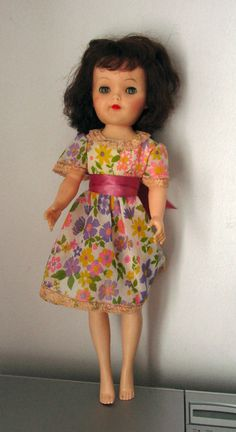 "Vintage 19"" Effanbee High Heel Doll Jointed Knees Offered by #TheHotAttic on Bonanza"