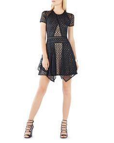 Bcbgmaxazria Aileen Lace Dress