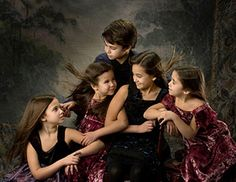 Children's Photography. Together arm and arm this special children's grouping  celebrates their special character.