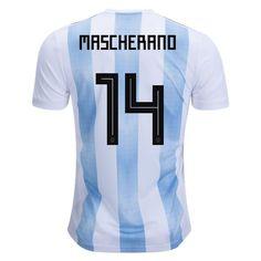adidas Javier Mascherano Argentina Home Jersey 2018