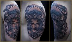 Gypsy head by Tim Hendricks