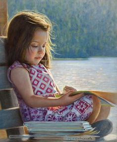 Painting: Danielle Richards, Canadian realist ~ so sweet