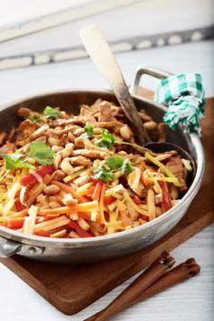 Possu-maapähkinäwokki | Aasia | Pirkka #food #Asian #wok
