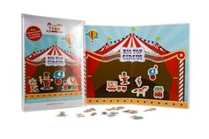 We just love the magnetic Big Top Circus from Little Tyro! Hello Charlie - Little Tyro Magnetic Big Top Circus, $19.95 (http://www.hellocharlie.com.au/little-tyro-magnetic-big-top-circus/)