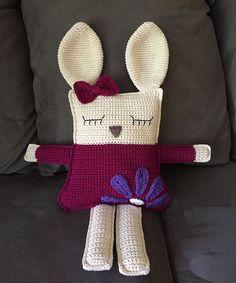 Crochet Bunny Ragdoll Bunny Rag Doll Crochet Bunny Crochet