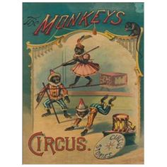 from Milieu:  would love to find a nook for this.  The Monkeys Circus Chart