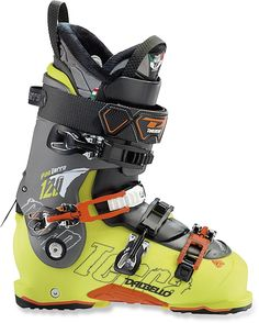 Advanced ski boots for rockered skis. Adjustable footbeds and ski/hike switches to make hiking the sidecountry easy—Men's Dalbello Panterra 120 Ski Boots - 2013/2014