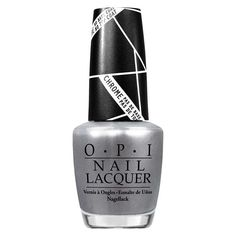 The Original Silver Chrome Polish! OPI Push & Shove from The Gwen Steffani Collection