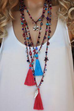Commercio all'ingrosso collana di Gypsy sacco di collana