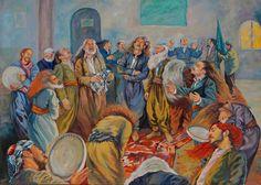 Bayad Abdullah Kurdish artist~ Sulaymaniyah south of Kurdistan بهیادعهبدوالله Arabian Art, North Africa, Famous Artists, Figure Painting, Folklore, Online Art, Art Photography, Drawings, Artwork