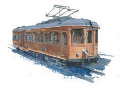 Tren de Sarrià Brill