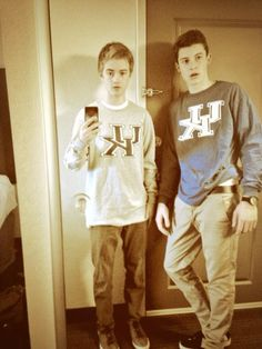 Jack Johnson and Shawn Mendes. My Babies with UK on #gobigblue love you so much