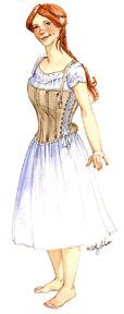 1850's - 60's Madam Foy Skirt Supporting Corset Pattern