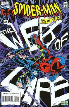 Spider-Man 2099 # 26 by Joe St. Pierre & Jimmy Palmiotti