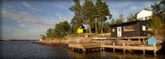 Stolp på berg bryggor - Vi bygger bryggor, stenkistor och bojar i Stockholm - Sjöliv