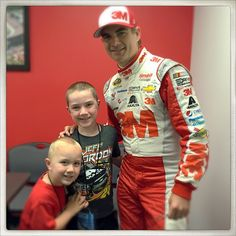 """""""Friday was the Best Day Ever... Me & Jeff Gordon got to rap together!"""" - Caleb C / @LittleRappers during the #JeffGordonRap at @monstermile ! (Padgram @littlerappers)"""