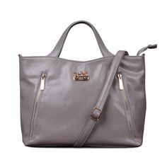 Coach Toaster In Saffiano Medium Grey Satchels EKQ Give You The Best feeling!