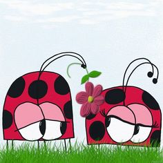 #Ladybug / #Ladybird / Beetle / Bug / Insect / Wooing Digital Print Download by #OneArtsyMomma, $6.00