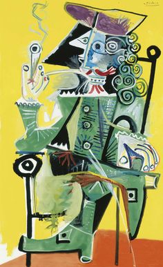 Works by Picasso and Giacometti Lead Christie's Sale of Impressionist and Modern Art - Eloge de l'Art par Alain Truong Pablo Picasso Drawings, Kunst Picasso, Art Picasso, Picasso Blue, Picasso Paintings, Picasso Images, Henri Matisse, Henri Rousseau, Pablo Picasso Zeichnungen
