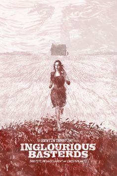 Inglourious Basterds (2009) ~ Alternative Movie Poster by Daniel Norris #amusementphile