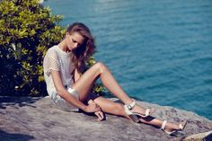 Holly Rose for RMK Shoes' Spring 2013 Campaign