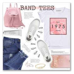 """""""#76"""" by just-a-girl-with-thoughts ❤ liked on Polyvore featuring Essie, Rebecca Minkoff, Vans, Old Navy, Byredo and bandtees"""