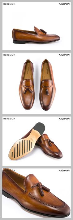 1475712bea2 Magnanni cuero tassel loafer  Constructed using the finest Spanish  craftsmenship