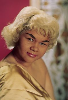 ETTA JAMES R.I.P. (January 25, 1938 - January 20, 2012) by Black History Album, Winner of six Grammys and 17 Blues Music Awards. Inducted into the Rock & Roll Hall of Fame in 1993.
