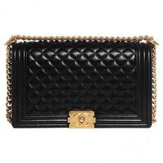 Chanel Boy leather handbag  👉🏻 $ 4,899 🙏  ❇️100% Original 💦✅ ❇️👉🏻Product Details💦✅ http://shopstyle.it/l/oQKO << Click😄🙏
