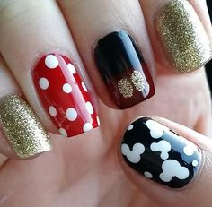 28 Disney Nail Art Designs For Happy Hands