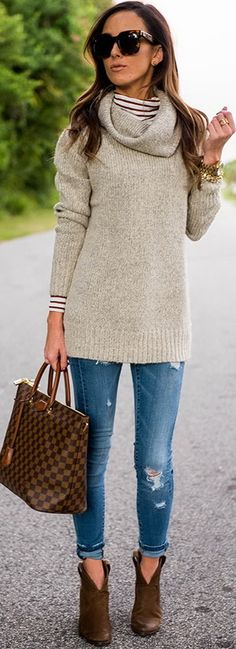 Fall outfit by Sequins and Things