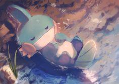 Pokemon Fan Art, All Pokemon, Pokemon Stuff, Pokemon Eeveelutions, Mudkip, Pokemon Images, Pokemon Pictures, Water Type Pokemon, Pokemon Emerald
